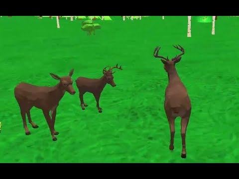 Deer Simulator - Animal Family Game Walkthrough - YouTube