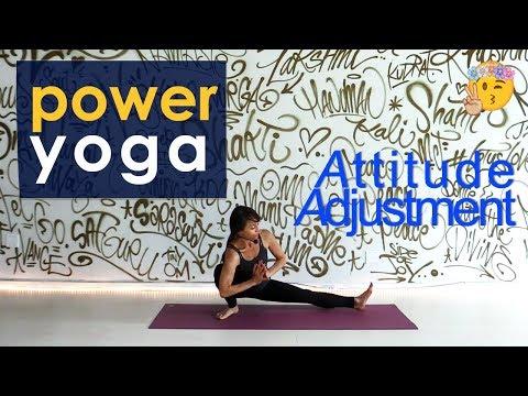 Power Yoga Attitude Adjustment