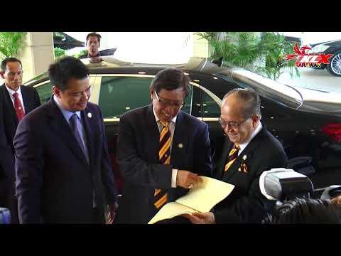 Ketibaan Ketua Menteri Sarawak Di Dewan Undangan Negeri Sarawak Pagi Ini