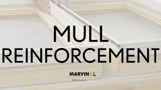 Aluminum Mull Reinforcement - Marvin Windows and Doors