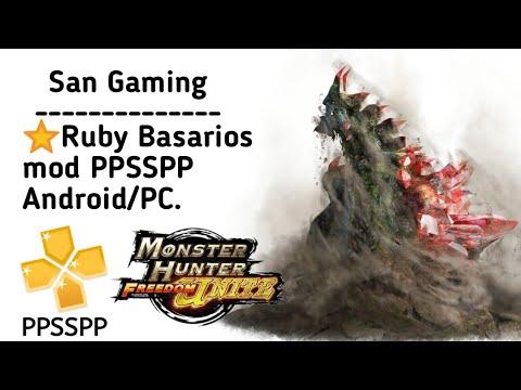 MHFU - [MOD] Ruby Basarios tutorial PPSSPP