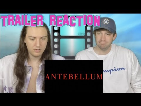 Antebellum (2020 Movie) Trailer Reaction #Antebellum #TrailerReaction