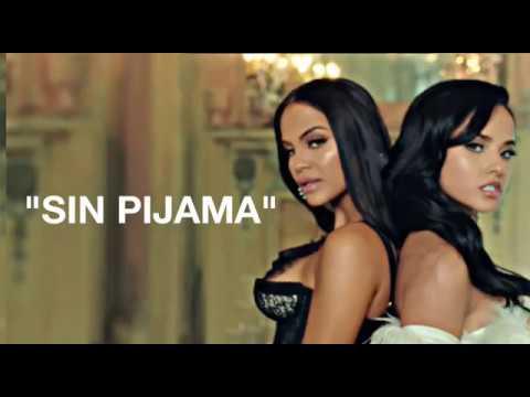 Sin Pijama -- Becky G ft. Natti Natasha (LYRICS)