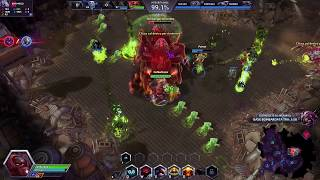 Heroes of the Storm StarCraft PvE Brawl: Deadman's Stand (Heroic)