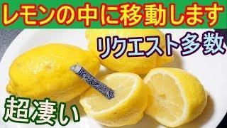 【種明かし】怒られたら削除します。カードがレモンの中に移動!?【絶対ウケる】magic tutorial