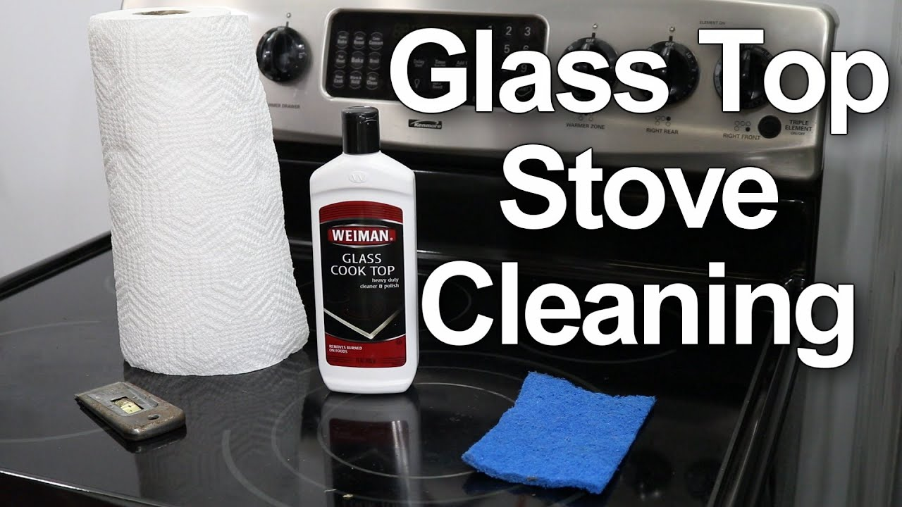 Captivating Glass Top Stove Cleaning   #1 Best Method   YouTube