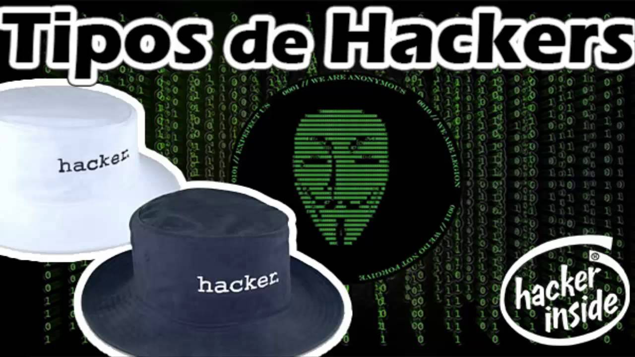 tipos de hacker black white and gray hat hackers youtube