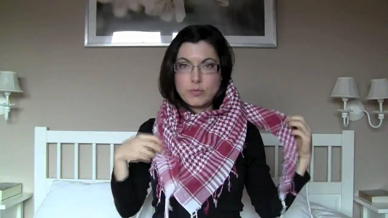 f1bec48072 Cómo ponerse bufandas