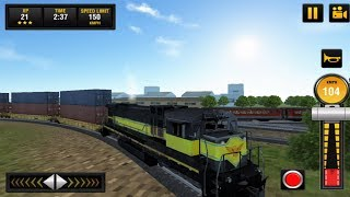 Euro Train Simulator(Freight Job) 2018 Android Gameplay