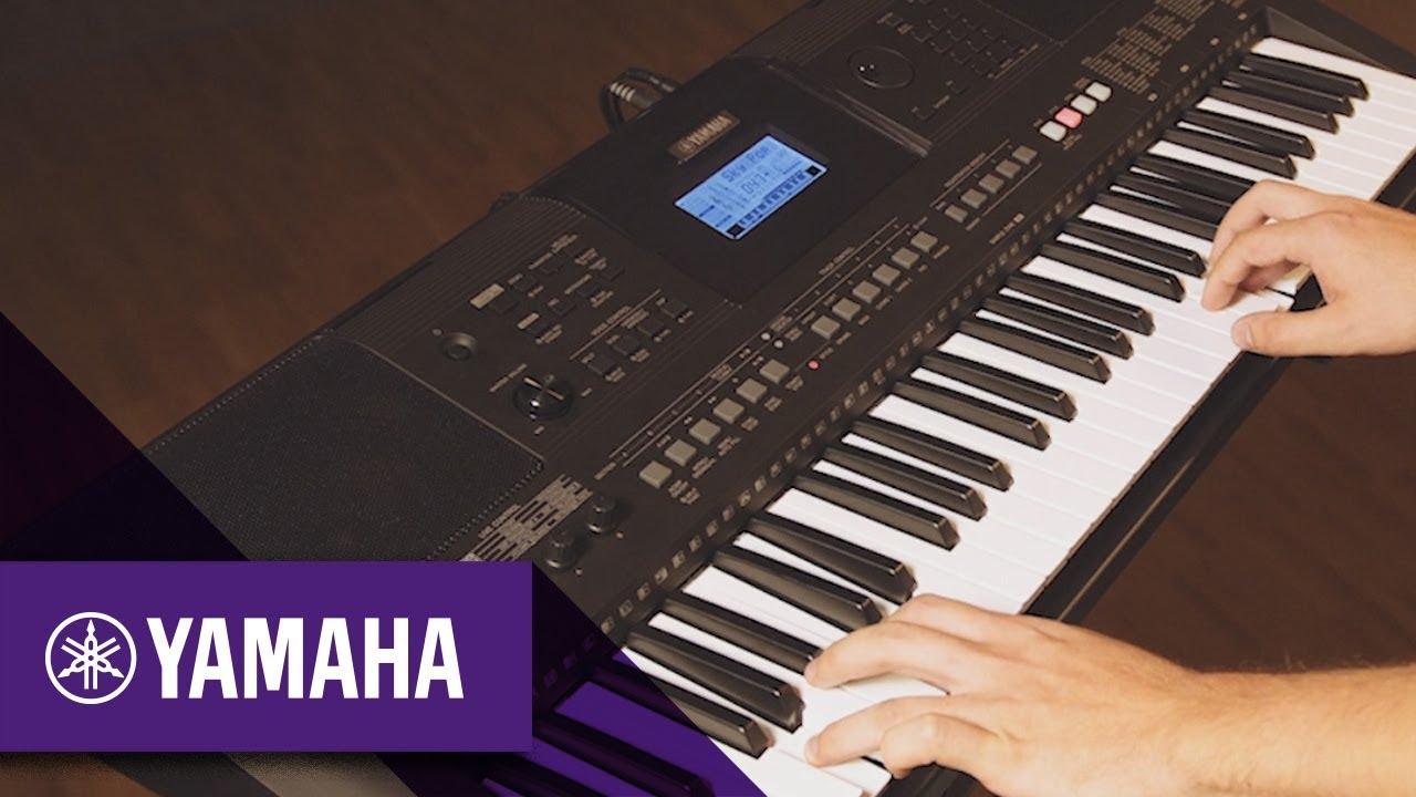 Yamaha Psr E463 Digital Keyboard Overview Yamaha Music