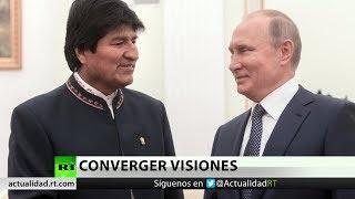 Evo Morales se reúne con Vladímir Putin: ¿Qué une a Rusia y Bolivia?