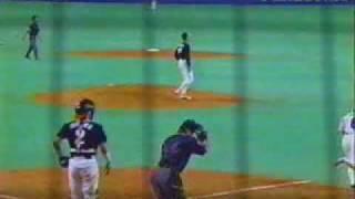 ダイエー 秋山幸二のスーパープレー 1999年日本シリーズ第3戦