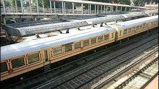 Royal Train : Palace on Wheels Standing at Sawai Madhopur Junction