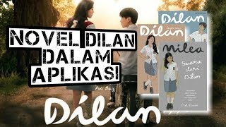 Download lagu Novel Dilan 1990,1991,& Milea dalam Aplikasi ANDROID