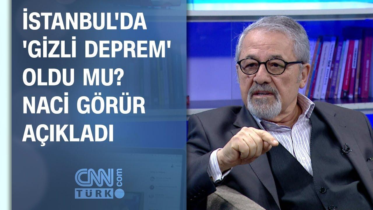 İstanbul'da 'gizli deprem' oldu mu? Naci Görür açıkladı