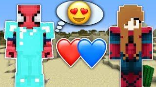 ZENGİN VS FAKİR ÖRÜMCEK ADAM #38 - Zengin Aşık Oldu (Minecraft)