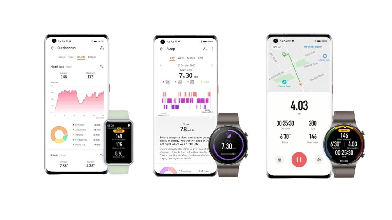 Huawei Health 11.0.5.508 | Running pace