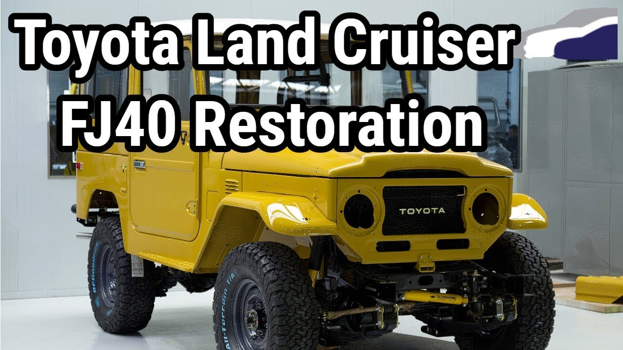 1977 Toyota Land Cruiser FJ40 Restoration