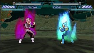 Black Goku Vs. Vegeta y Goku (Shin Budokai 2) RECREACIÓN DE BATALLA