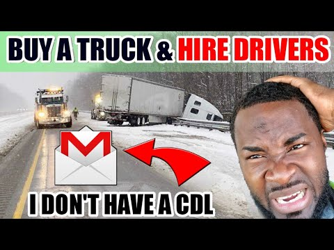 I'M PLANNING TO BUY A USED SEMI TRUCK HIRE A DRIVER & STAY HOME,