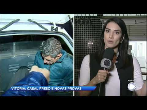 """Pai de Vitória fala sobre a prisão do casal suspeito: """"Não sinto paz"""""""