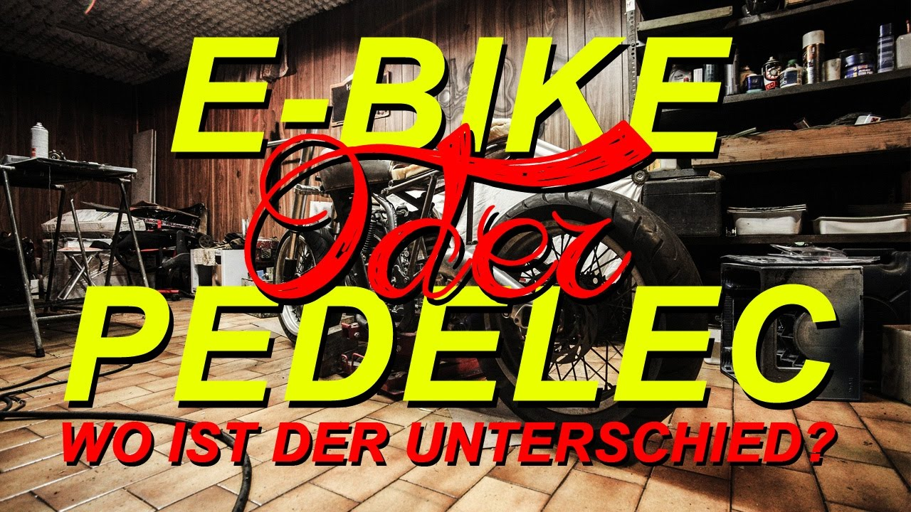 e bike oder pedelec wo ist der unterschied youtube. Black Bedroom Furniture Sets. Home Design Ideas
