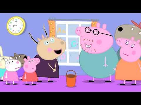 Peppa Pig Dublado HD | O Adubo | desenhos PORTUGUÊS #5