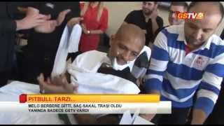 GSTV | Pitbull Tarzı -  Felipe Melo Saç-Sakal Traşı Oldu