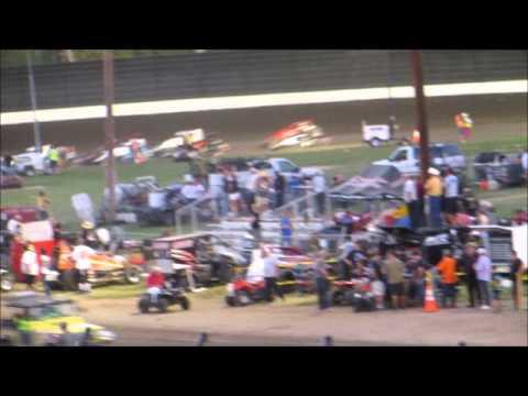 Sprintcars  Heats @ Calistoga Speedway 8 31 14