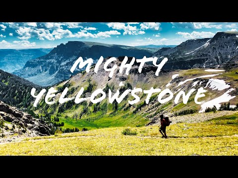 Headwaters of Yellowstone River, 8 days Backpacking Teton Wilderness, Hiking outside National Park