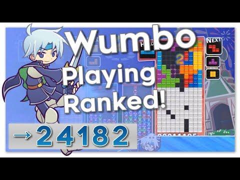 Puyo Puyo Tetris – Wumbo Ranked! 24134➜24182 (PC)