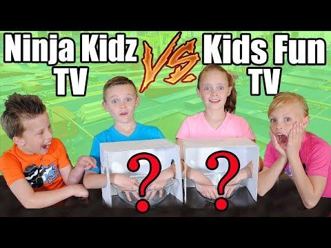 Kids Fun TV Compilation Video With Ninja Kidz TV: Twin VS Twin Challenges & Girls VS Boys Challenge!