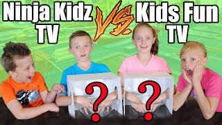 Ninja Kidz TV VS Kids Fun TV Compilation Video: Twins Challenge!