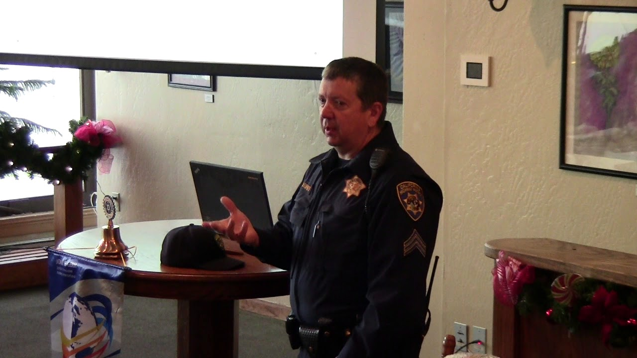 CHP Sergeant Martin Abshire on Humboldt Traffic Issues