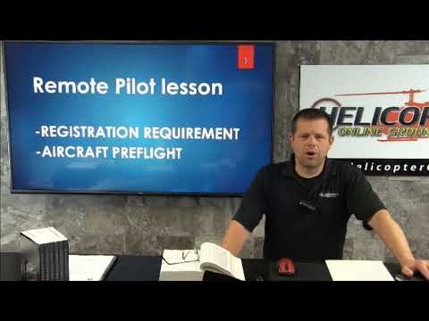 Small Unmanned Aircraft Registration and Preflight Requirements