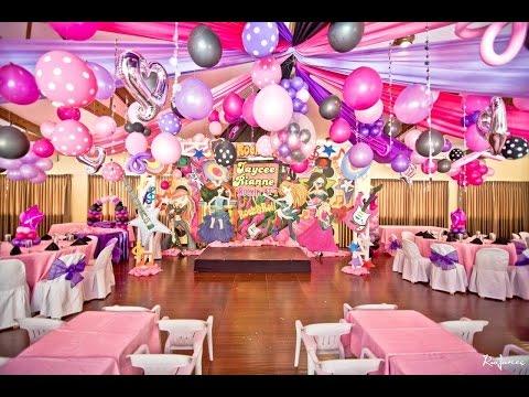 Jaycee's Rockstar Princess 7th Birthday - Pink & Peach Party