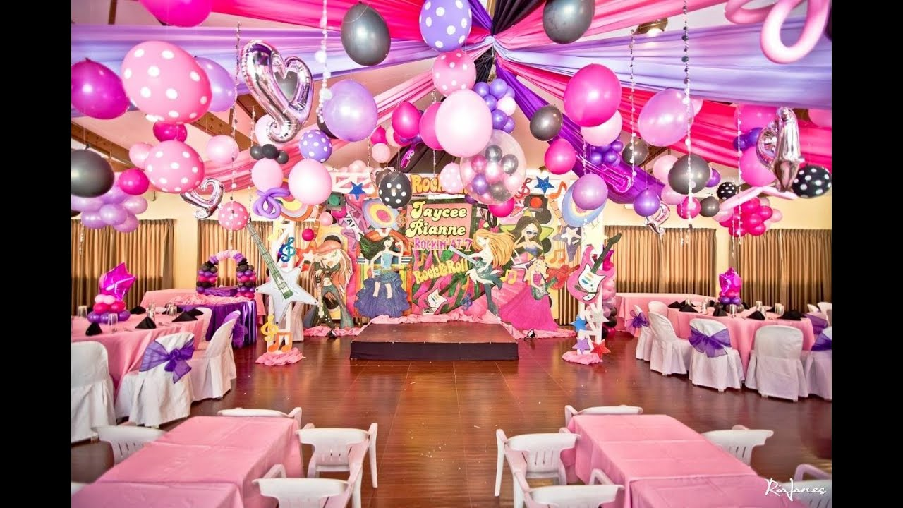 7th birthday party princess theme the for Decoration ideas 7th birthday party