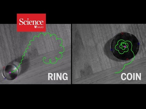 Spinning ring puts surprising twist on familiar physics