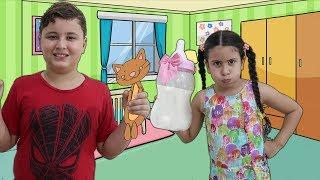 JP VIROU BABÁ DA MARIA CLARA POR 1 DIA - Kids Pretend Play With Nanny