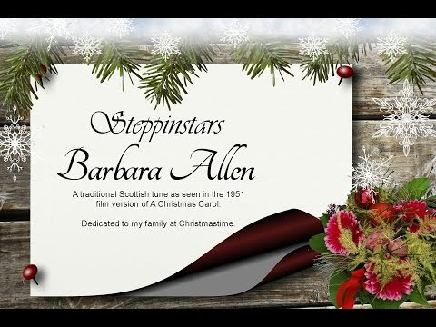 Christmas - Barbara Allen- UK - Steppinstars - Scrooge - A Christmas Carol - Dickens - Holiday