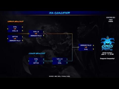 [Dota 2 live] Immortals vs. Complexity (bo5 Grand Finals) - Captains Draft 4.0 NA Qualifiers
