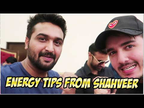 ENERGY TIPS FROM SHAHVEER JAFRY | REALME LAUNCH EVENT