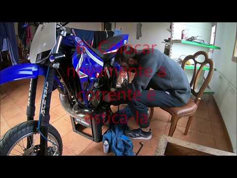 Troca de pinhão de ataque - Yamaha DTR 125
