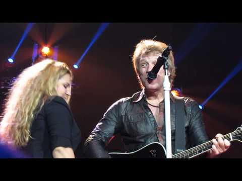 Bon Jovi - Who Says You Can't Go Home (with guest)  - Anaheim 10/9/2013