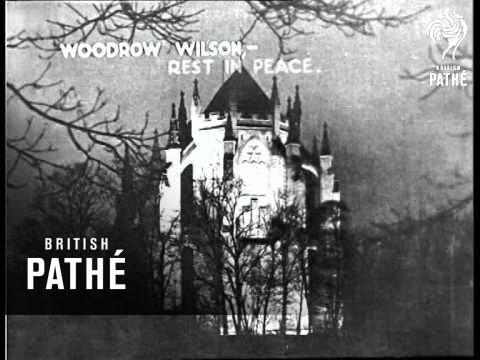 President Wilson - Funeral (1924)