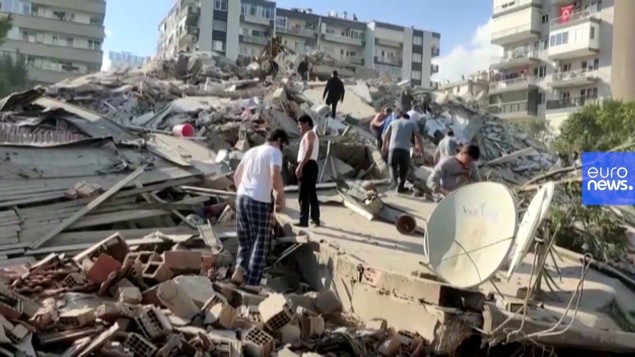 Terremoto en el Mar Egeo: víctimas mortales y numerosos daños en Turquía