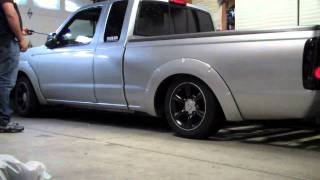 nissan frontier bagged