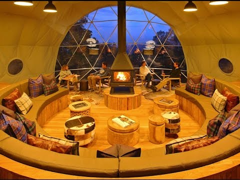 Inside Africa's Futuristic Jungle Domes In Tanzania's Highlands Camp