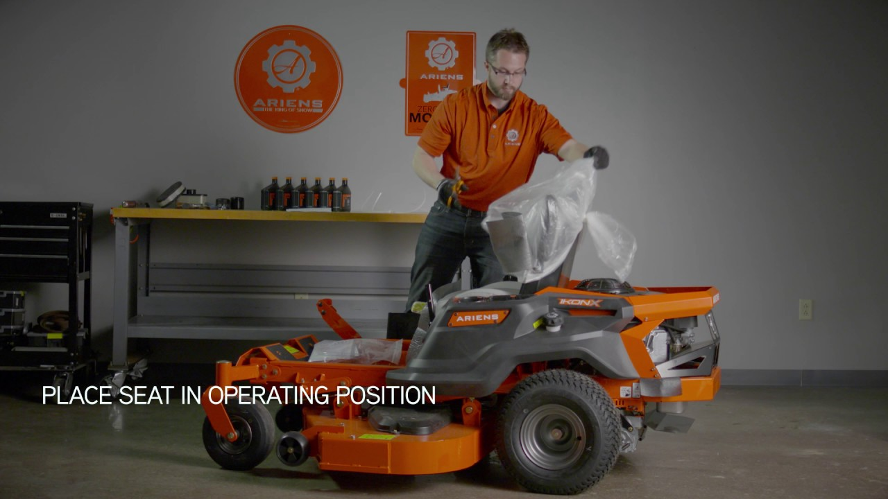 How to Uncrate and Assemble IKON X | Ariens®