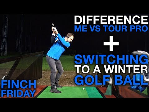 Differences Me vs Tour Pro + Switching To Winter Golf Balls!